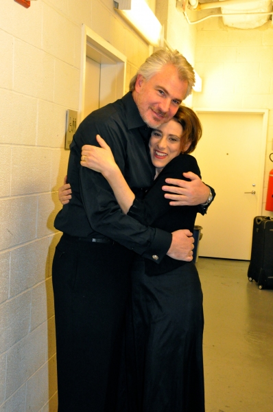 Douglas Sills and Judy Kuhn