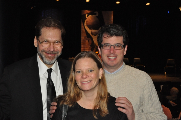David Staller, Lisa Litwin (Gingold Theatrical Group Advisory Board) and Ethan E. Litwin (Gingold Theatrical Group Board of Directors)