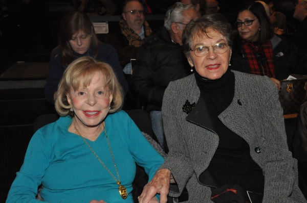 Anita Jaffe (Gingold Theatrical Group Board of Directors) and Florence Teuscher (Ging Photo