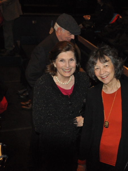 Roxanne Greenstein (Development Consultant) and Maggie Buchwald (Gingold Theatrical Group Board of Directors)