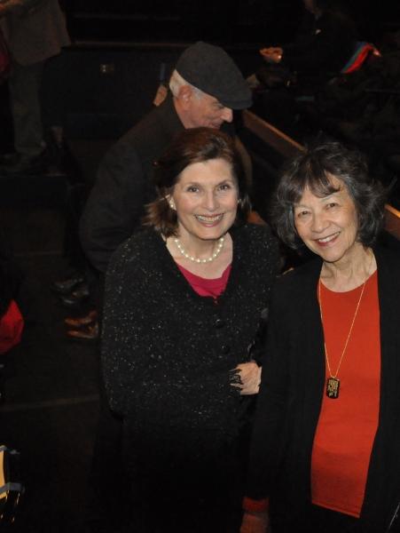 Roxanne Greenstein (Development Consultant) and Maggie Buchwald (Gingold Theatrical G Photo