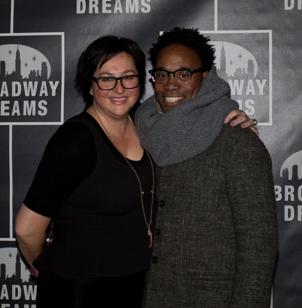 Annette Tanner and Billy Porter