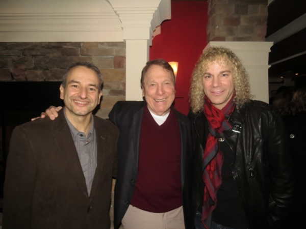 Playwright Joe DiPietro, actor Greg Mullavey and frequent DiPietro collaborator David Bryan
