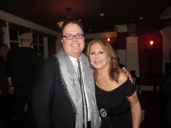 George Street Playhouse Artistic Director David Saint and star Marlo Thomas