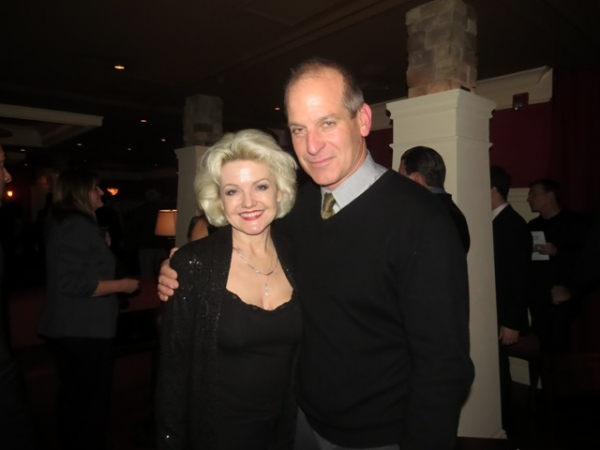 Actors Alison Fraser and John Bolge