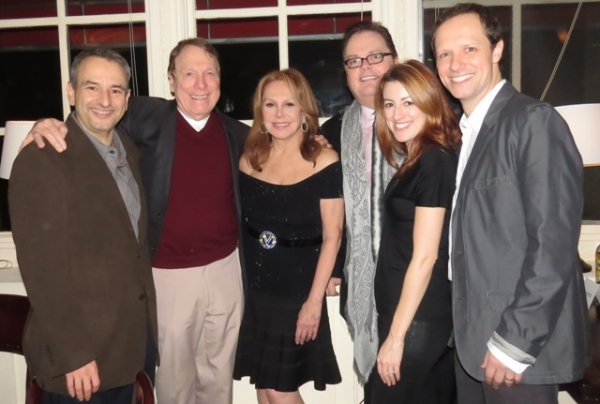 Joe DiPietro, Greg Mullavey, Marlo Thomas, GSP Artistic Director/Director David Saint, Kate Wetherhead and Jim Stanek