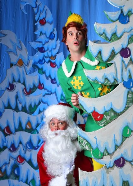 Jami Keck as the Buddy the Elf and Kala''au as Santa