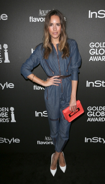 Louise Roe at  Hollywood Foreign Press Association and InStyle Celebrates the 2014 Golden Globe Awards Season (Photo by Jim Smeal/BEImages)