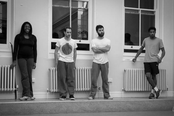 Nicola Hughes, Adam Sopp, Christian Edwards and Simon Coombs Photo