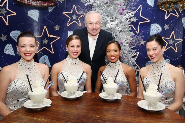 The Rockettes with Serendipity 3 Owner Stephen Bruce