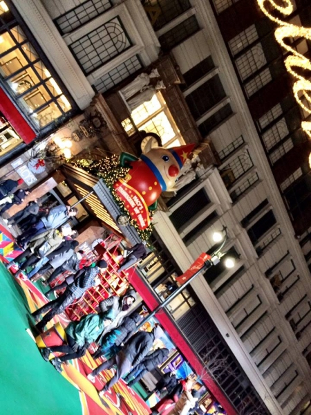 Photo Flash: Cast of PIPPIN Rehearses for Macy's Thanksgiving Day Parade