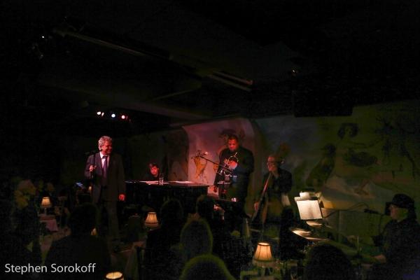 Bob Mann, Joe Allen,  Quinn Johnson, music director, David Finck, Bigon Watson, Kevin Winard