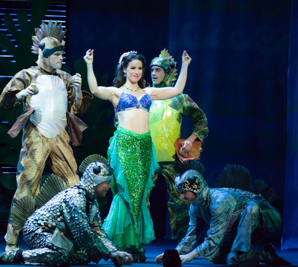 Chilina Kennedy and the Cast of THE LITTLE MERMAID