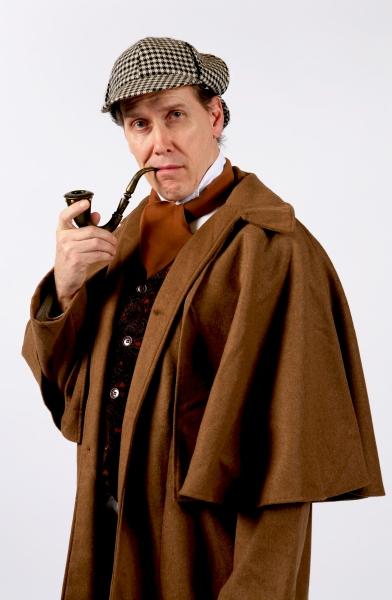 Greg Holt as William Gillette Photo