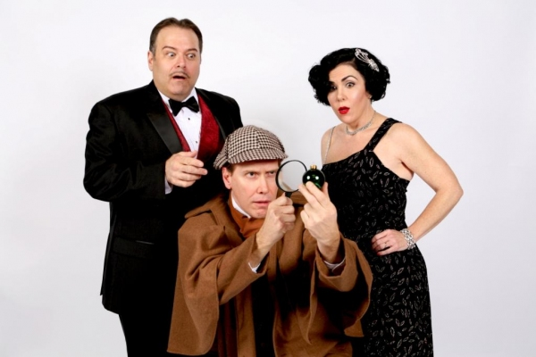 Photos: Sneak Peek at WaterTower Theatre's THE GAME'S AFOOT