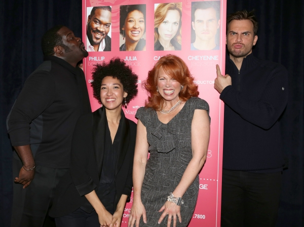 EXCLUSIVE Photo Coverage: In Rehearsal for Broadway Classics at Carnegie Hall with Cheyenne Jackson, Carolee Carmello, Phillip Boykin & More!