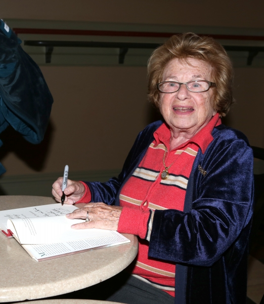 EXCLUSIVE Photo Coverage: Dr. Ruth Hosts BECOMING DR. RUTH Book Signing
