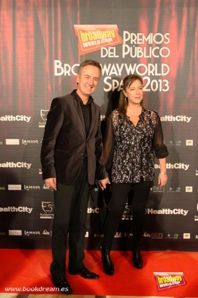 Carlos Hipolito y su esposa Mapi Sagaseta