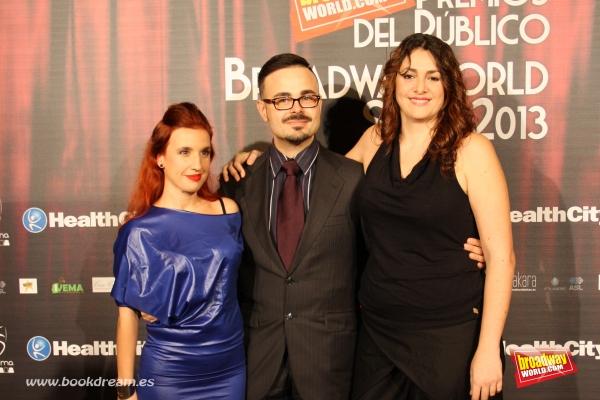 Merce Grane, Jose Luis Sixto y Sara Perez