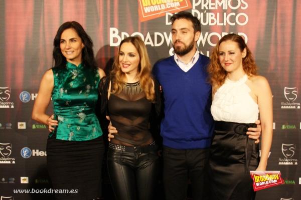 Sonia Dorado, Dulcinea Juarez, Jose Masegosa y Julia Moller