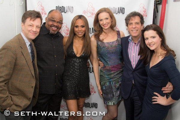 Photo Flash: Deborah Cox, Jessica Burrows Van Kipp, Veanne Cox & More Join Jonathan Brielle for I SAW BROADWAY at Birdland