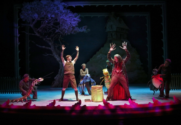 Photo Flash: First Look at Mike Spee, Kendra Kassebaum & More in JAMES AND THE GIANT PEACH World Premiere!