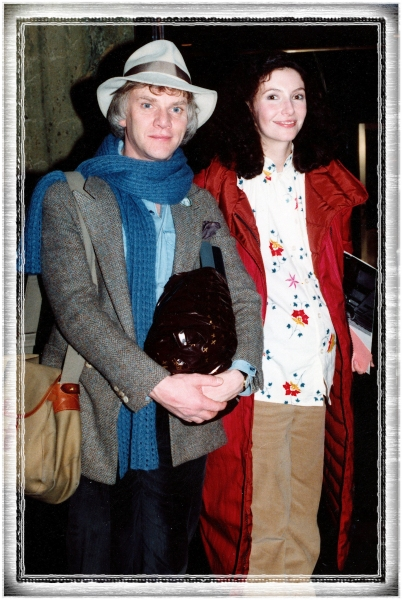 Malcolm McDowell with his wife Mary Steenburgen Photo