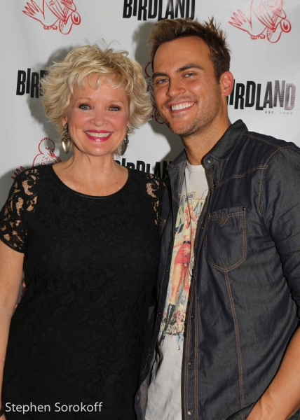 Photo Flash: Cheyenne Jackson Makes Birdland Debut with Christine Ebersole