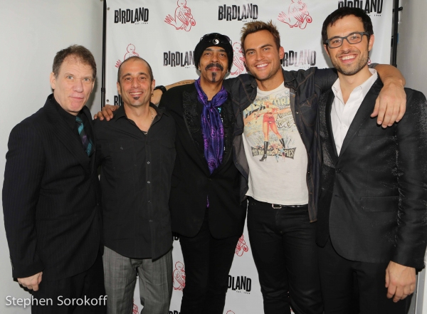 Gary Haase, Ray Marchica, Steve Bargonetti, Cheyenne Jackson, Ben Toth Photo