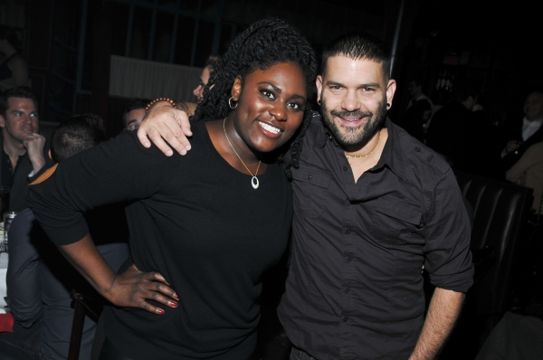 Danielle Brooks and Guillermo Diaz