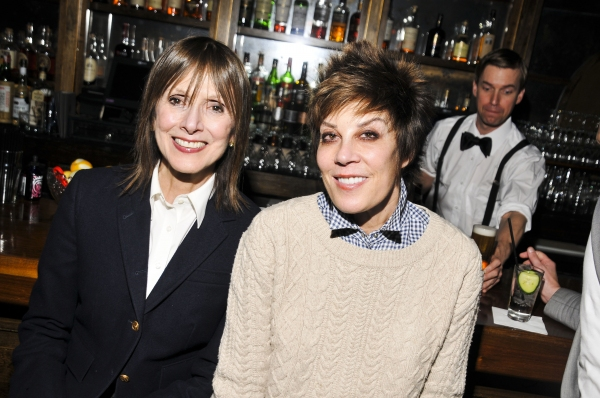 Jean Doumanian and Peggy Siegal Photo