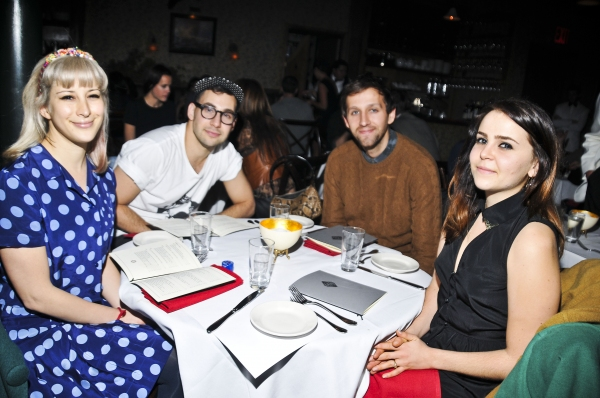 Photo Flash: Laura Osnes, Guillermo Diaz & More Dine at The Heath on Opening Night!