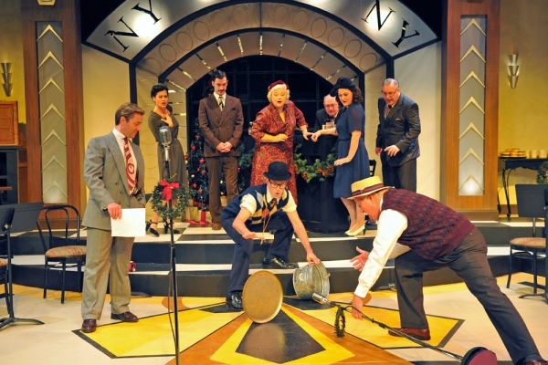 Photo Flash: First Look at Sierra Rep's IT'S A WONDERFUL LIFE: A LIVE RADIO PLAY, Now Playing