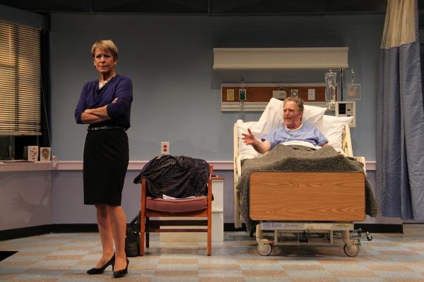 Naomi Jacobson (Rita) and John Lescault (Ben) Photo