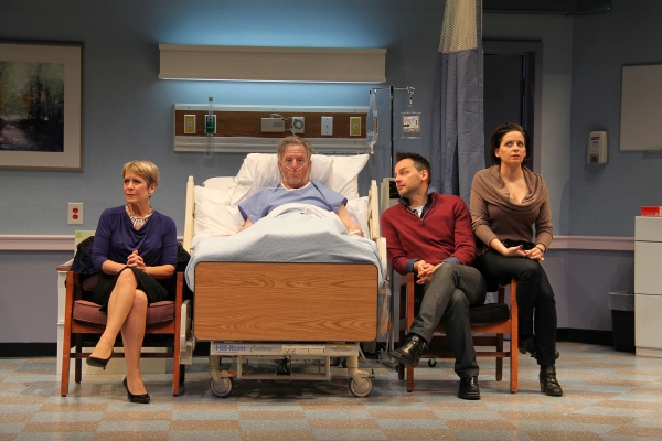 Naomi Jacobson (Rita), John Lescault (Ben), Kimberly Gilbert (Lisa), and Marcus Kyd (Curtis)