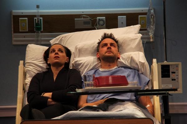 Kimberly Gilbert (Lisa) and Marcus Kyd (Curtis)