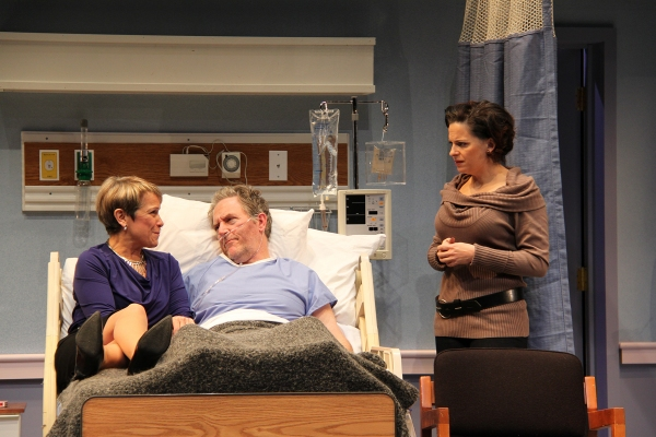 Naomi Jacobson (Rita), John Lescault (Ben), and Kimberly Gilbert (Lisa)