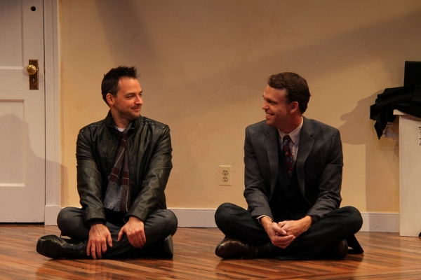Marcus Kyd (Curtis) and Brandon McCoy (Brian)