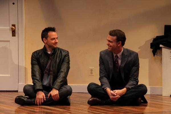 Marcus Kyd (Curtis) and Brandon McCoy (Brian)
