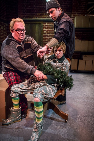 Photos: First Look at Artists' Rep's XMAS UNPLUGGED Double-Feature
