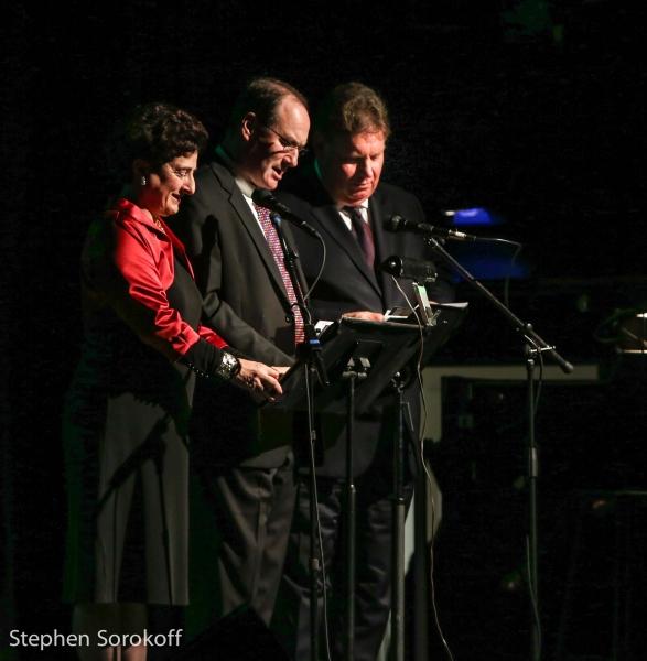 Judith Friedman Rosen, co-chair, Jeffrey S. Wiesenfeld, Chairman, Charlie Rose, co-chair
