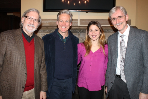 Playwright MERLE GOOD, TOM GALANTICH, ADRIA VITLAR, Christian Therapist JOHN BAUMAN