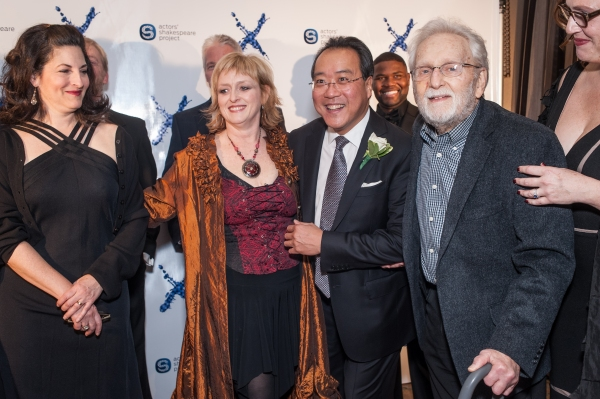 Members of ASP RAC, Yo-Yo Ma and Alvin Epstein