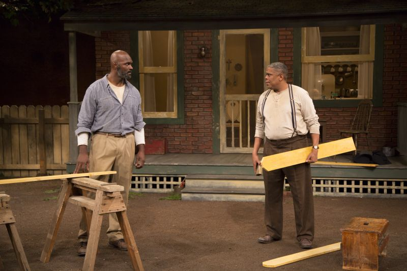 Photo Flash First Look At Phylicia Rashad Helmed Fences
