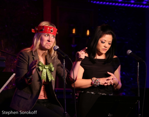 Photo Coverage: Katie Thompson Brings CHRISTMAS WITH A 'K' to 54 Below