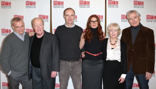 Director Doug Hughes, John Aylward, Brian F. O''Byrne, Debra Messing, Dearbhla Molloy and Playwright John Patrick Shanley