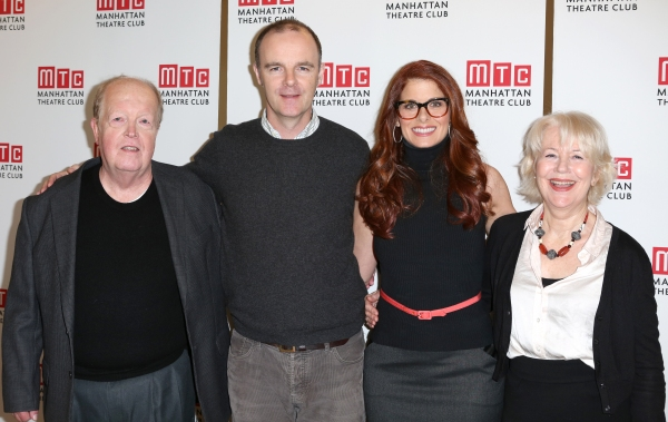 Photo Coverage: Debra Messing, Brian F. O'Byrne and Cast of MTC's OUTSIDE MULLINGAR Meet the Press!