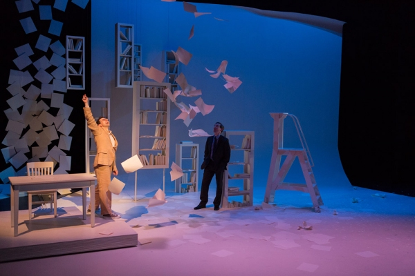 Photo Flash: First Look at Rob McClure and Ben Dibble in DTC's THE STORY OF MY LIFE