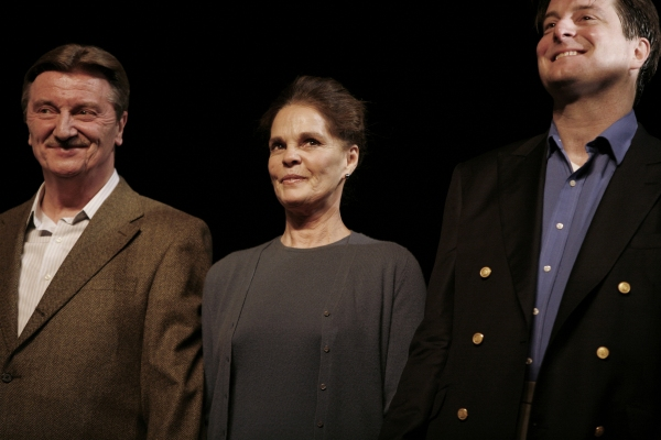 Larry Bryggman, Ali MacGraw and Christopher Evan Welch