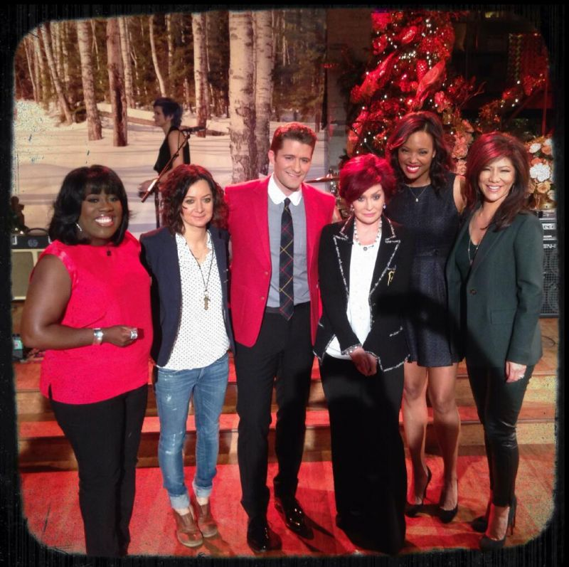 Matthew Morrison Stops By THE TALK & Talks Christmas